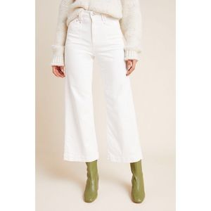 Paige Anessa Ultra High Rise Wide Leg Jeans